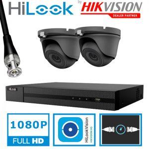 HILOOK HD 1080P KIT DVR-204G THC-T120 GREY